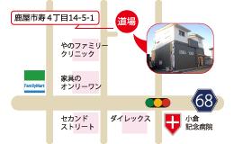 錬心舘 鹿屋東部支部 地図